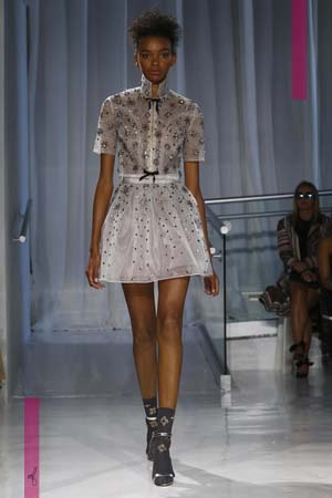 Reem Acra Fashion Show, Ready to Wear Collection Spring Summer 2017 in New York