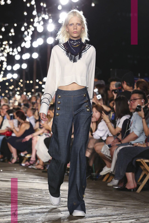 Tommy Hilfiger Fashion Show, Ready to Wear Collection Spring Summer 2017 in New York