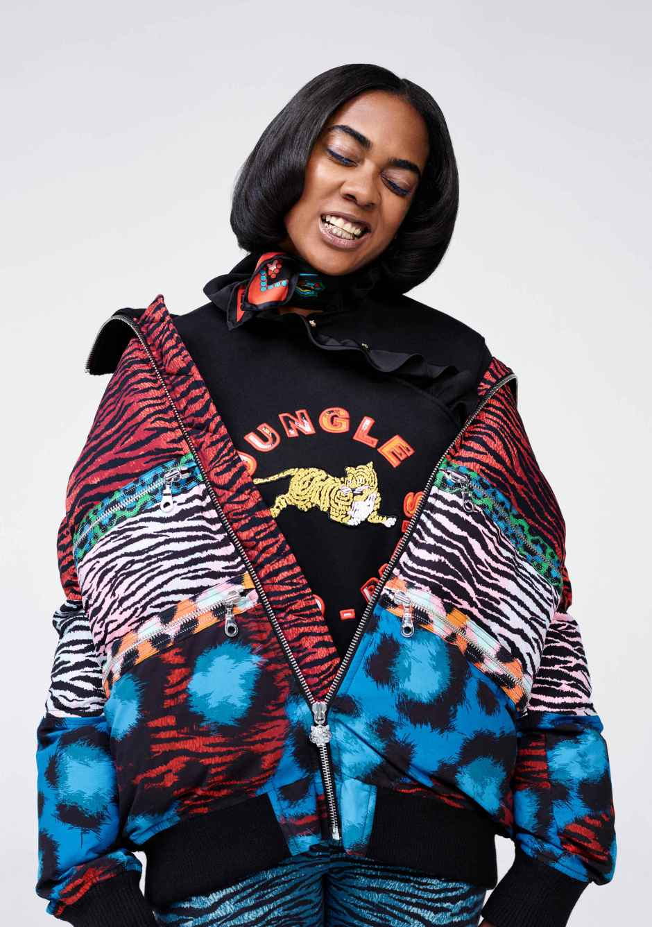 Kenzo x H&M. Photo: Oliver Hadlee Pearch/H&M
