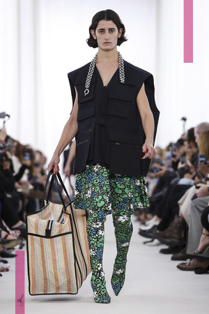 Balenciaga Fashion Show, Ready to Wear Collection Spring Summer 2017 in Paris