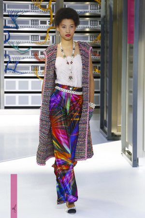 Chanel, Fashion Show, Ready to Wear Collection Spring Summer 2017 in Paris