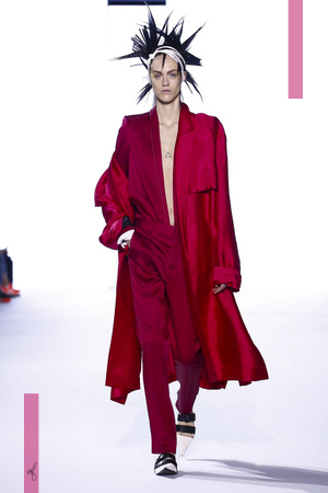 Haider Ackermann Fashion Show, Ready to Wear Collection Spring Summer 2017 in Paris