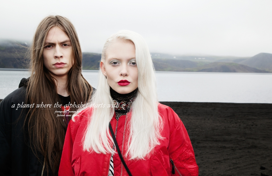 Rafn Ingi and Bryndis Magnúsdóttir styled by Anna Clausen and photographed by Jeaneen Lund for Schön! Magazine