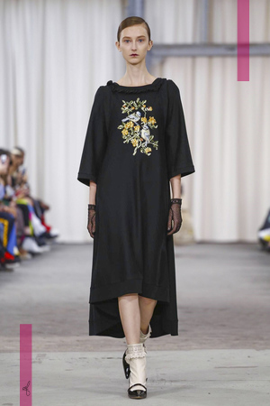 Veronique Branquinho Fashion Show, Ready to Wear Collection Spring Summer 2017 in Paris