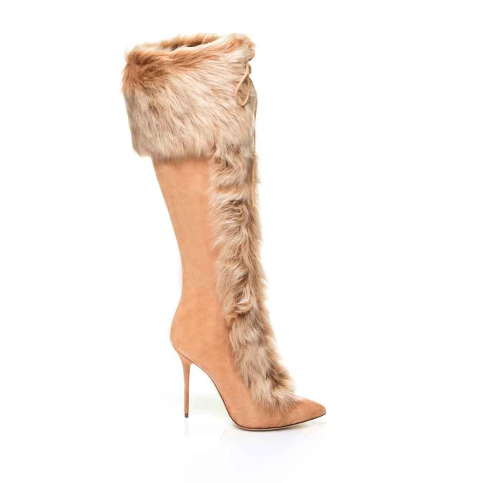 Rihanna x Manolo Blahnik's Alexis boot.