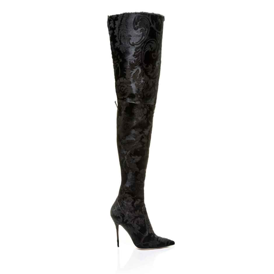 Rihanna x Manolo Blahnik's Doominique boot.