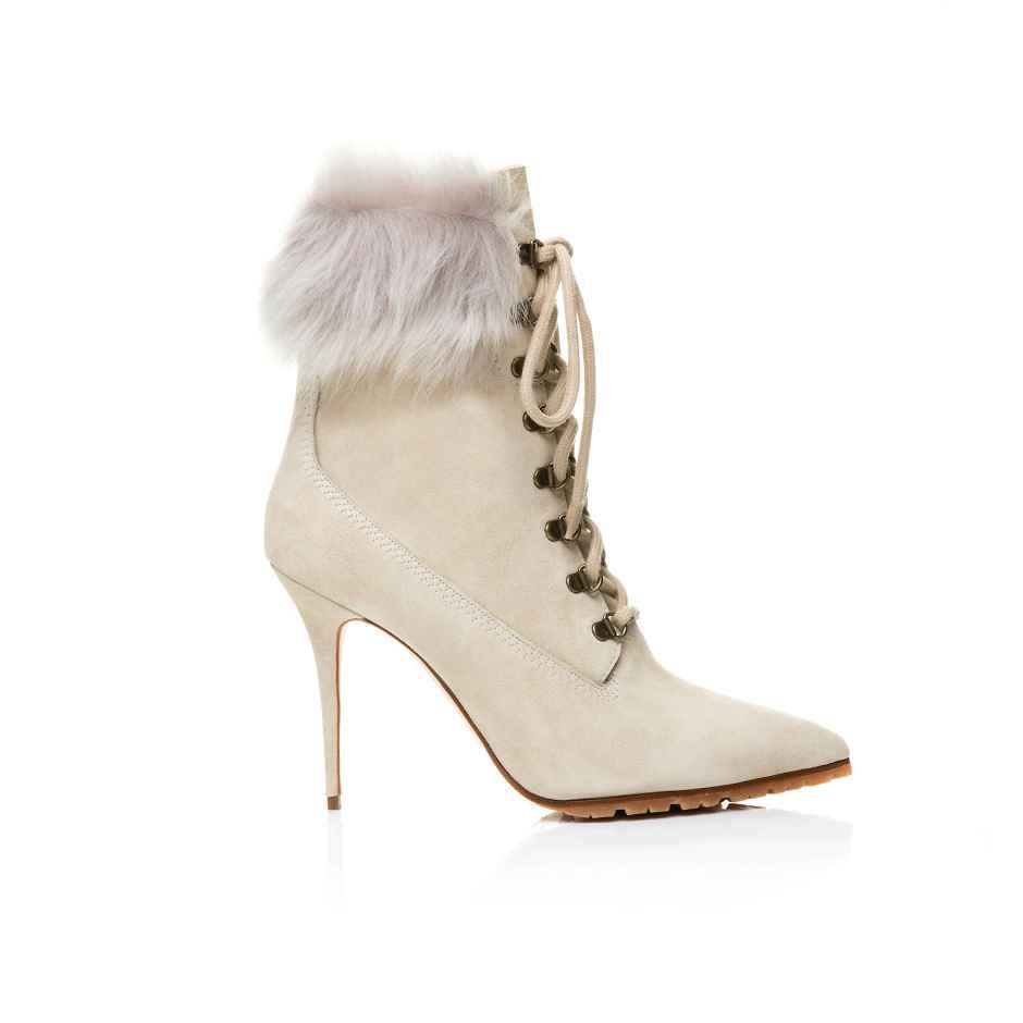Rihanna x Manolo Blahnik's Fallon boot.