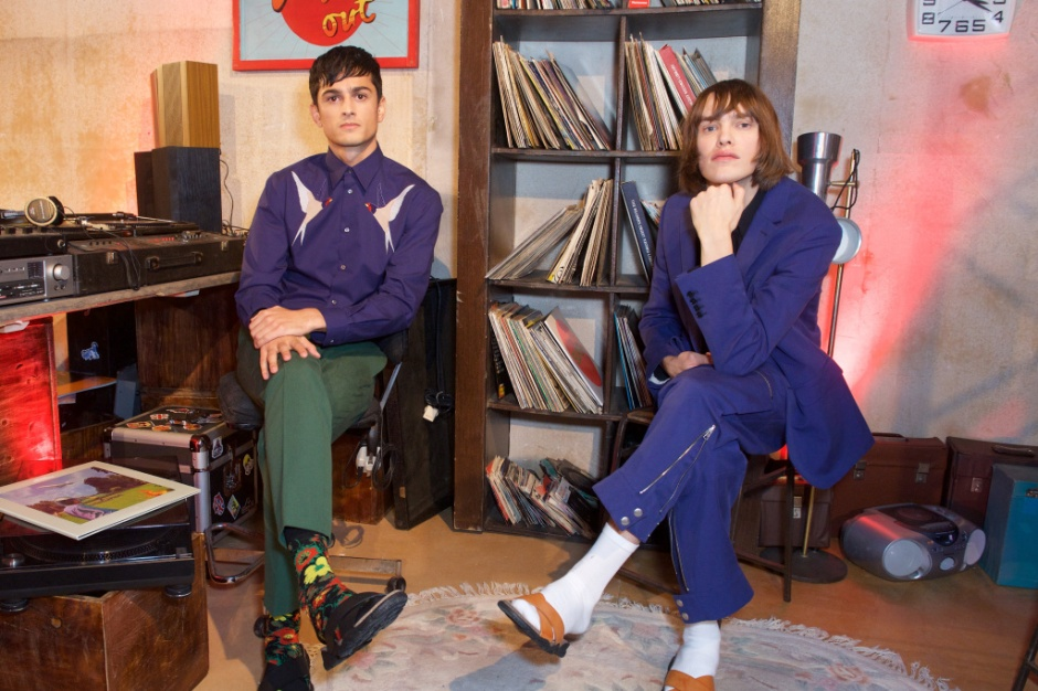 Stella McCartney menswear collection launch, Abbey Road Studios, London.