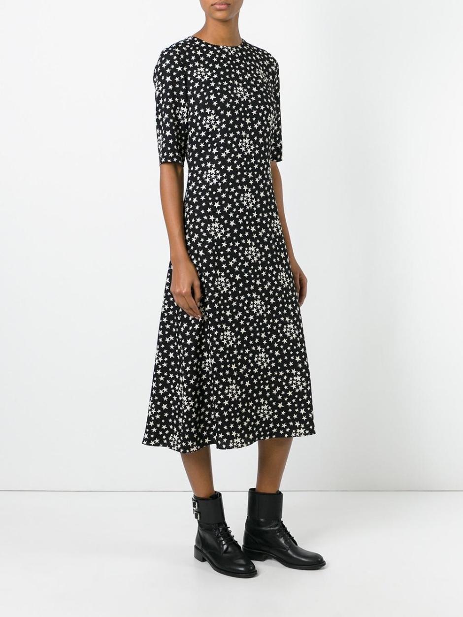 SAINT LAURENT  star print dress