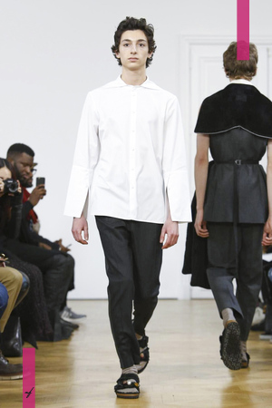 22/4_Hommes, Fashion Show, Menswear Collection Fall Winter 2017 in Paris