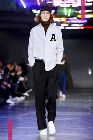 AMI Alexandre Mattiussi, Menswear, Fall Winter 2017 Fashion Show in Paris