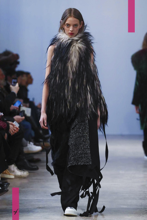 Ann Demeulemeester, Fashion Show, Menswear Collection Fall Winter 2017 in Paris