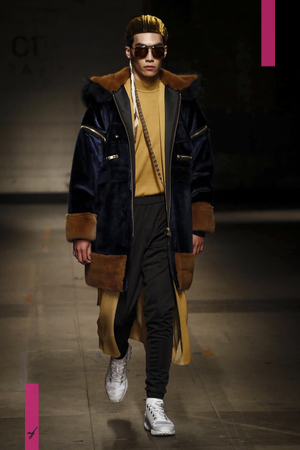 Astrid Andersen, Fashion Show, Menswear Collection Fall Winter 2017 in London