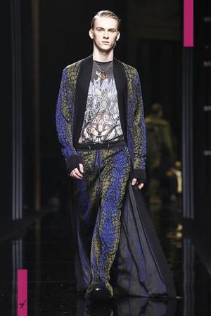Balmain, Menswear, Fall Winter 2017 Fashion Show in Paris