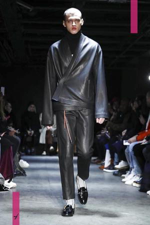Christian Dada Menswear, Fall Winter 2017 Fashion Show in Paris