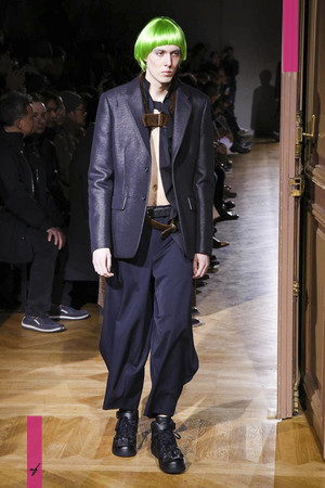 Comme des Garcons Homme Plus Menswear Fall Winter 2017 Collection in Paris