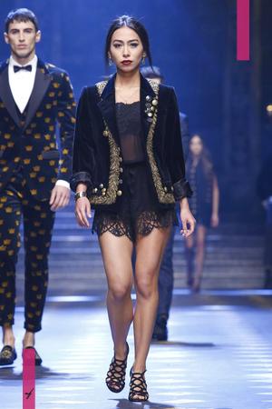 Dolce & Gabbana, Fashion Show, Menswear Collection Fall Winter 2017 in Milan