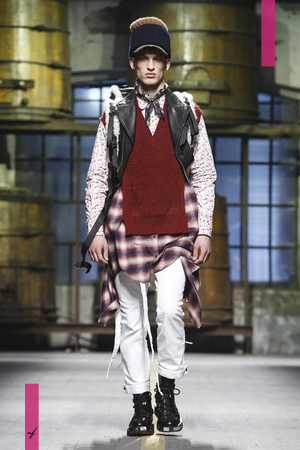 Dsquared2 Menswear Fall Winter 2017 Colletion in Milan