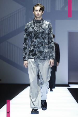Emporio Armani Menswear, Fall Winter 2017 Fashion Show in Milan