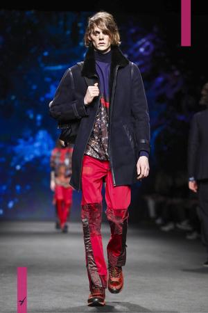 Etro, Fashion Show, Menswear Collection Fall Winter 2017 in Milan