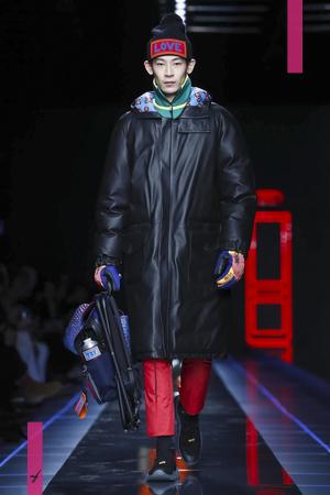 Fendi Menswear, Fall Winter 2017 Fashion Show in Milan