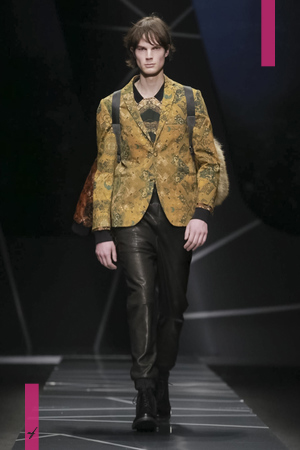 Frankie Morello, Fall Winter 2017 Menswear Collection in Milan