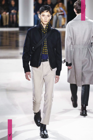 Hermes, Fashion Show, Menswear Collection Fall Winter 2017 in Paris