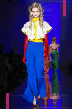 Jean Paul Gaultier, Fashion Show, Couture Collection Spring Summer 2017 in Paris