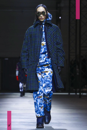 Kenzo, Fashion Show, Menswear Collection Fall Winter 2017 in Paris
