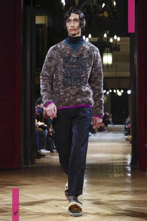 Kolor, Fashion Show, Menswear Collection Fall Winter 2017 in Paris
