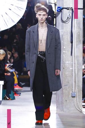 Lanvin, Fashion Show, Menswear Collection Fall Winter 2017 in Paris
