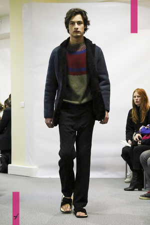 Lucien Pellat Finet Menswear Fall Winter 2017 Collection in Paris