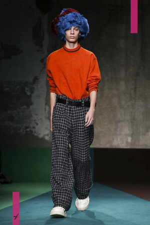 Marni, Fall Winter 2017 Menswear Collection in Milan