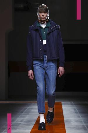 MSGM, Fashion Show, Menswear Collection Fall Winter 2017 in Milan