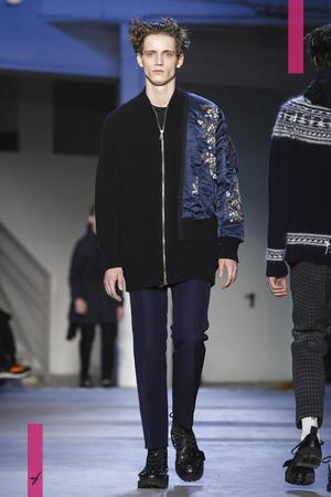 N°21, Fashion Show, Menswear Collection Fall Winter 2017 in Milan