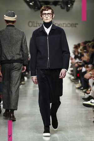 Oliver Spencer, Fashion Show, Menswear Collection Fall Winter 2017 in London