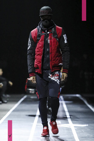 Plein Sport Menswear Fall Winter 2017 Colletion in Milan