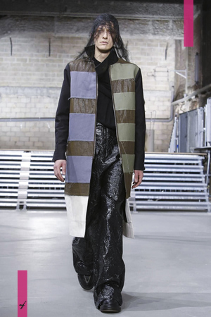 Rick Owens, Fashion Show, Menswear Collection Fall Winter 2017 in Paris