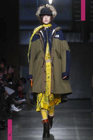 Sacai, Menswear, Fall Winter 2017 Fashion Show in Paris