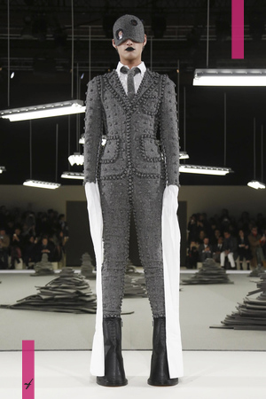Thom Browne, Fall Winter 2017 Menswear Collection in Paris