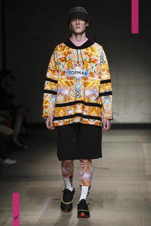Topman Design, Fashion Show, Menswear Collection Fall Winter 2017 in London