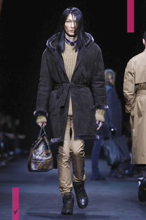 Versace, Fashion Show, Menswear Collection Fall Winter 2017 in Milan
