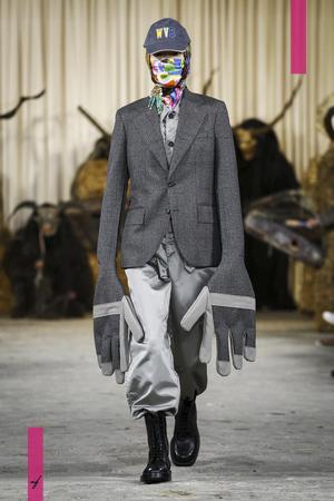 Walter Van Beirendonck, Fall Winter 2017 Menswear Collection in Paris