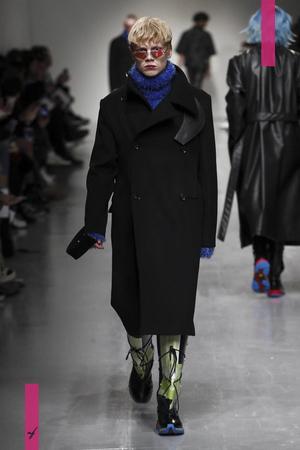 Xander Zhou, Fashion Show, Menswear Collection Fall Winter 2017 in London