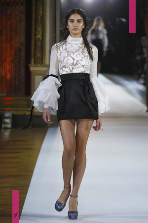 Yanina, Fashion Show Couture Collection Spring Summer 2017 in Paris