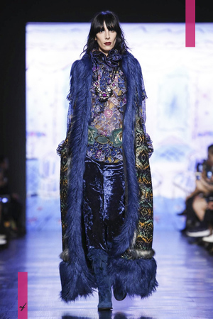 Anna Sui, Fashion Show, Ready to Wear Collection Fall Winter 2017 in New York