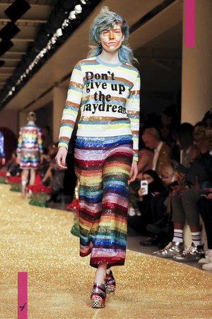 Ashish Ready To Wear, Fall Winter 2017 Fashion Show in London