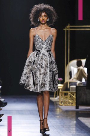 Badgley Mischka, Fashion Show, Ready to Wear Collection Fall Winter 2017 in New York