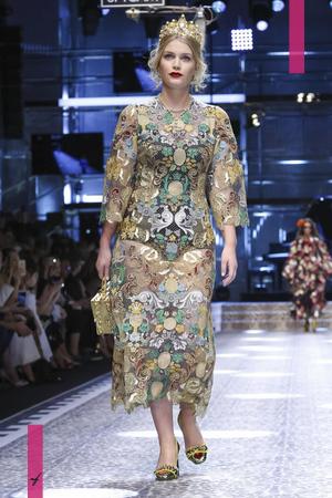 Dolce & Gabbana Ready To Wear Collection Fall Winter 2017 Fashion Show in Milan