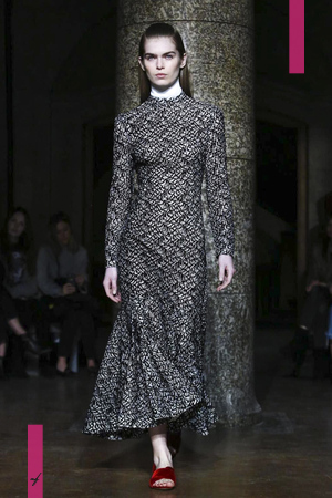 Emilia Wickstead, Fashion Show, Ready to Wear Collection Fall Winter 2017 in London